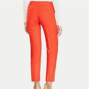J Crew Women's Orange City-Fit Stretch Pants